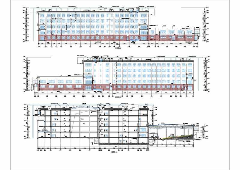 造价毕业设计_5层框架图书馆