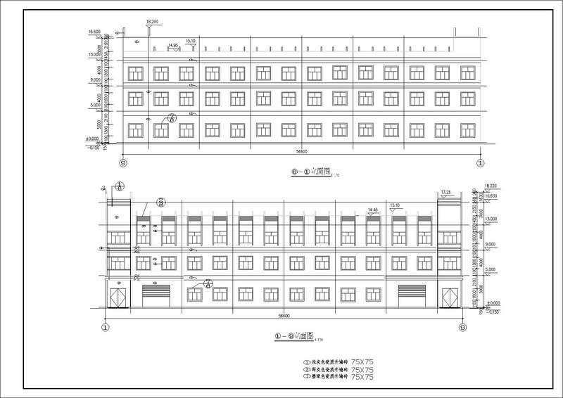 造价毕业设计_3层框架厂房
