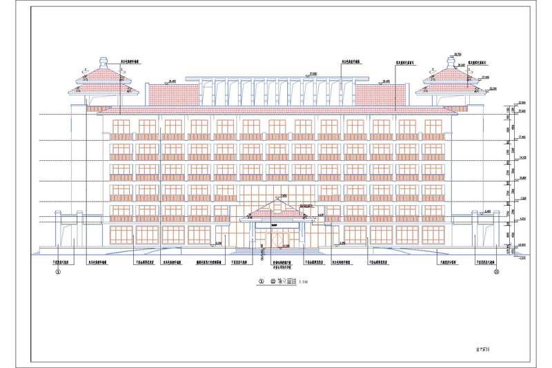 造价毕业设计_6层框架综合楼