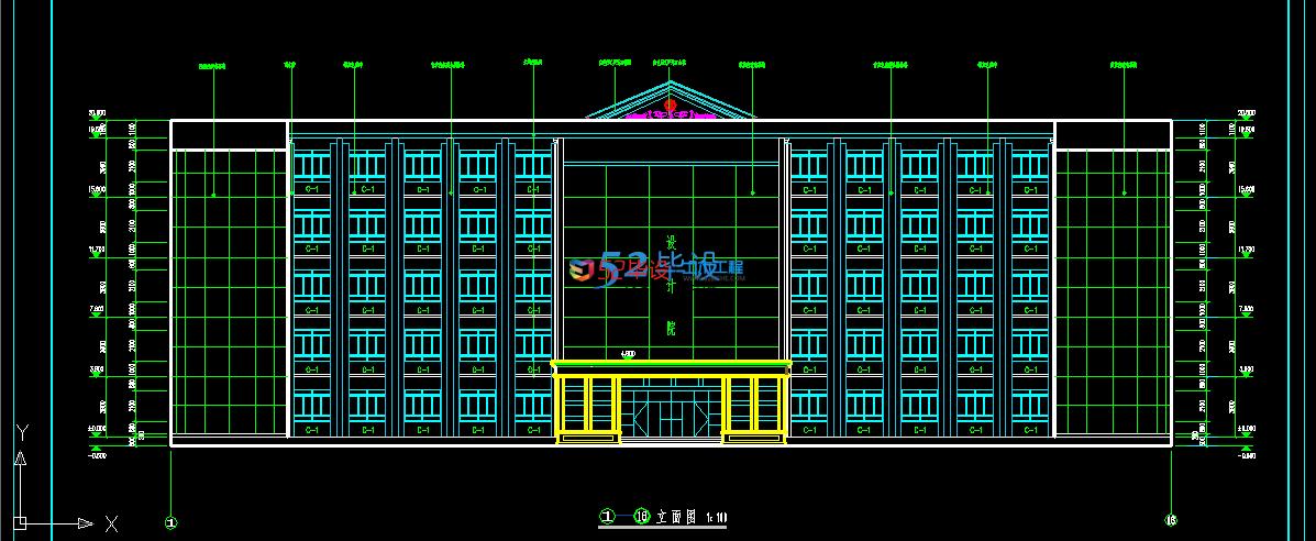 建筑/结构设计_5层框架综合办公楼