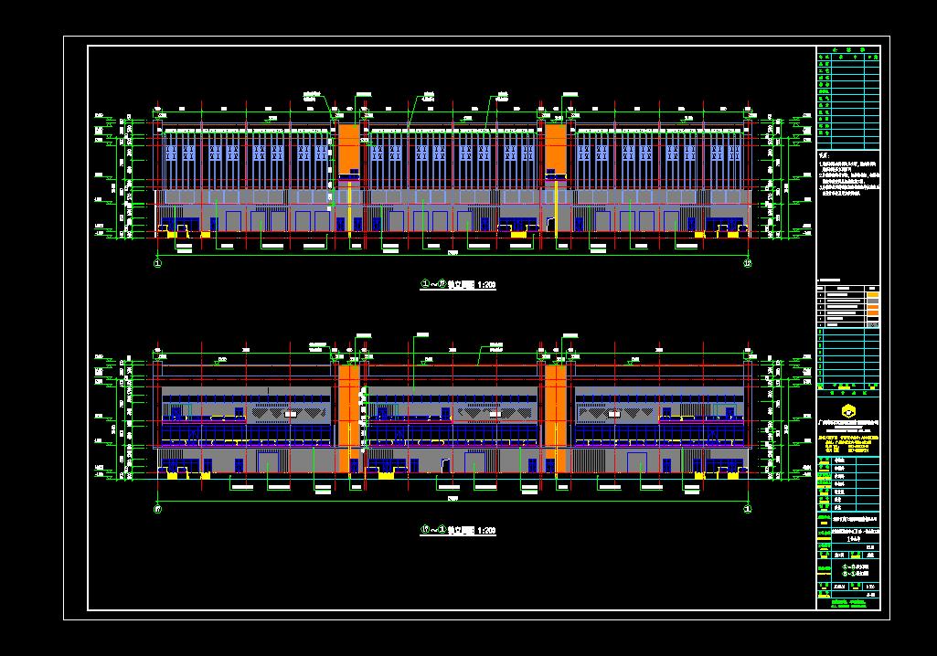图纸工程量清单计价_3层框架仓库预算