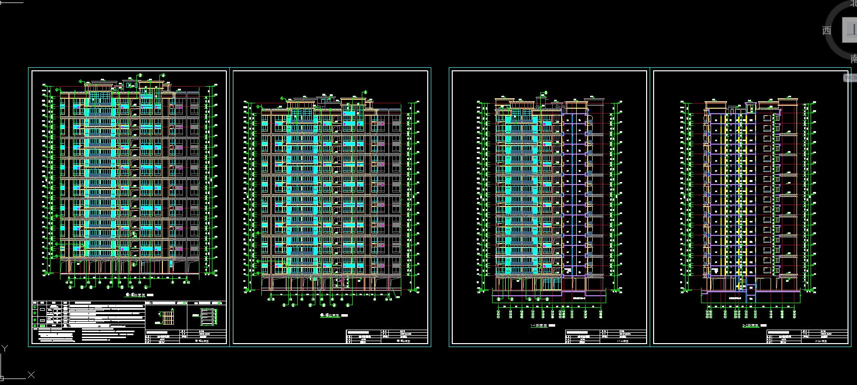 造价毕业设计_18层住宅楼施工组织与预算