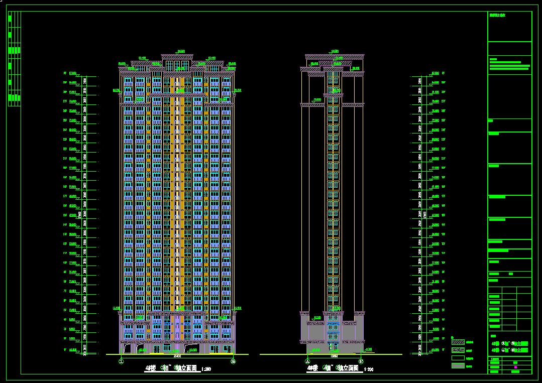 造价毕业设计_29层框剪住宅楼预算