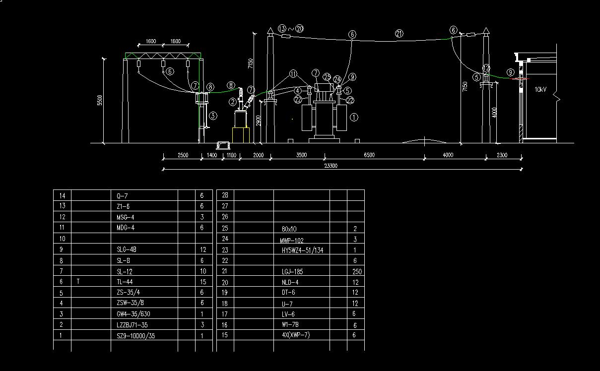 电气毕业设计_化工厂35kV总降变电所