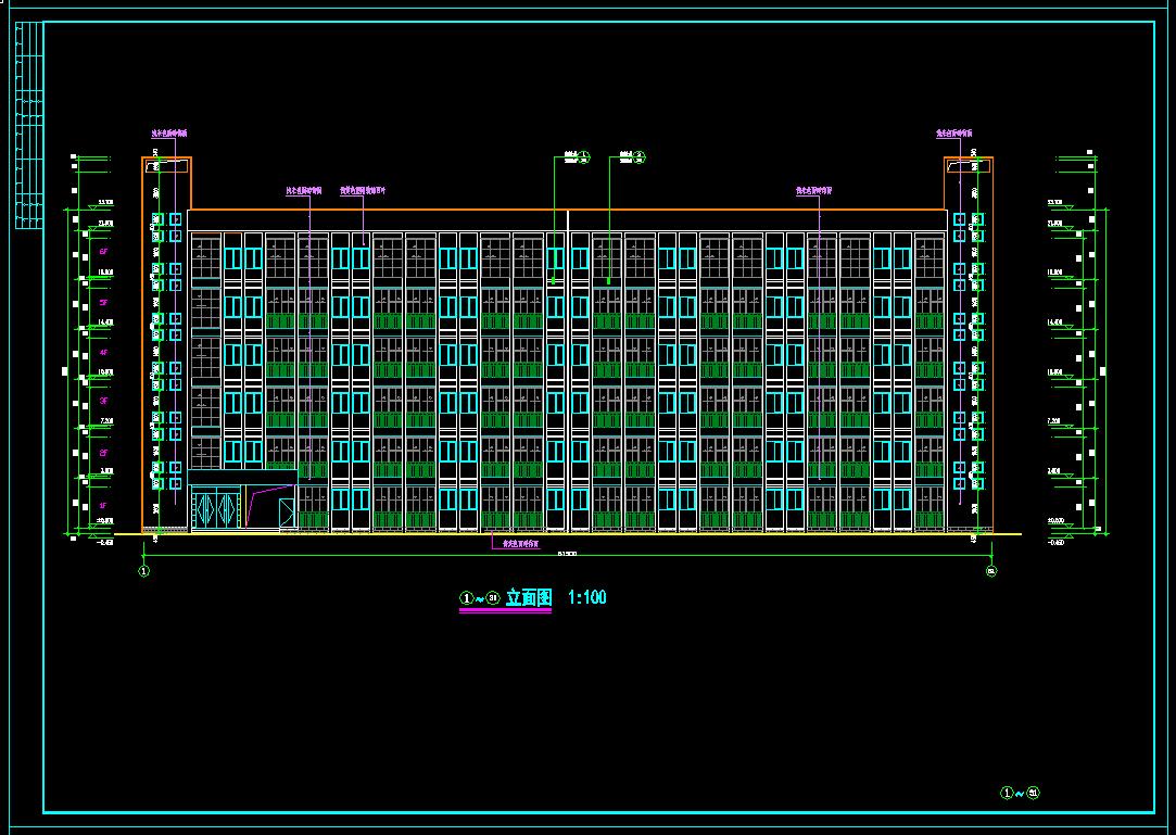 建筑结构设计及施工组织设计_6层砖混结构宿舍楼