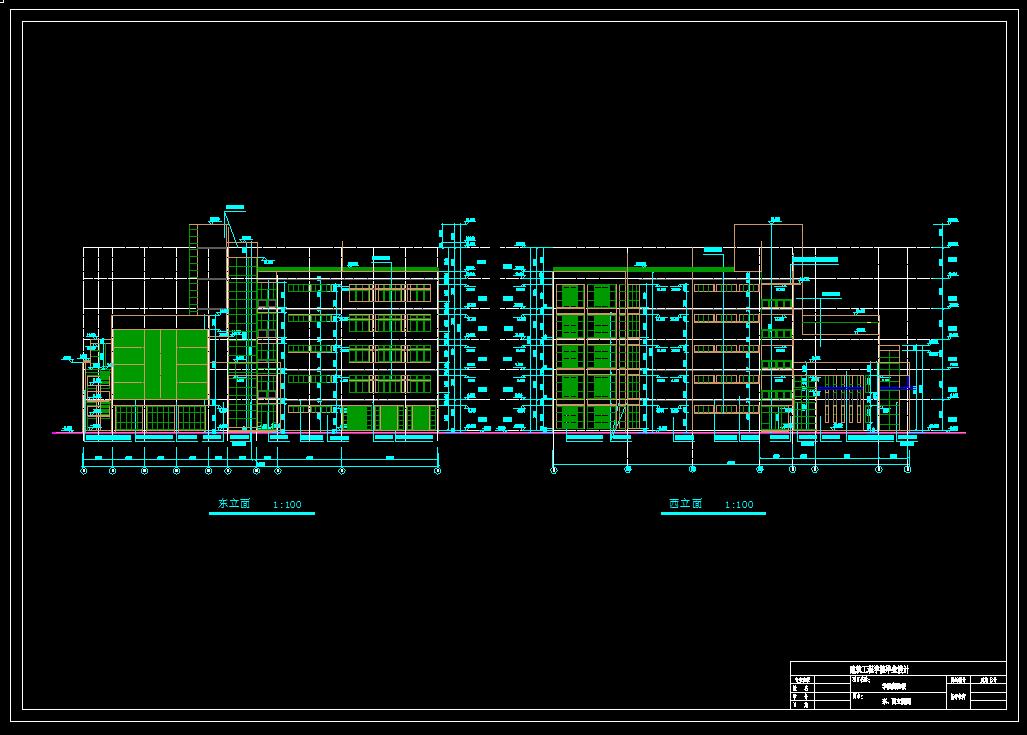 建筑/结构设计_5层框架结构实验楼