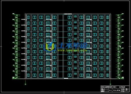 建筑/结构设计_11层框架结构行政办公楼