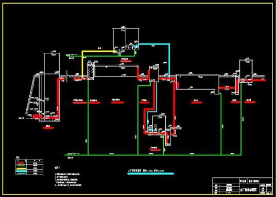 土木课程设计_自来水厂设计