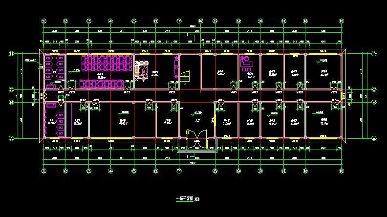 建筑/结构设计_3层办公楼设计