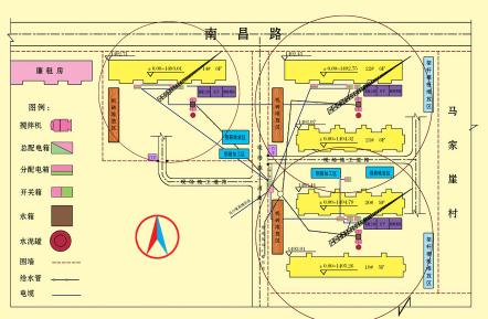 施工平面图绘制步骤和方法 -图1